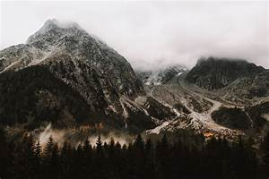 Photo of White Grey Mountain Beside Two Tone Brown