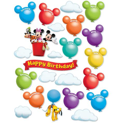 mickey mouse clubhouse birthday deco trim eureka school