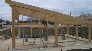 Construire Un Carport : construction d 39 un carport bois ~ Premium-room.com Idées de Décoration