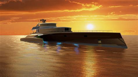 superyacht sunday  million trimaran superyacht