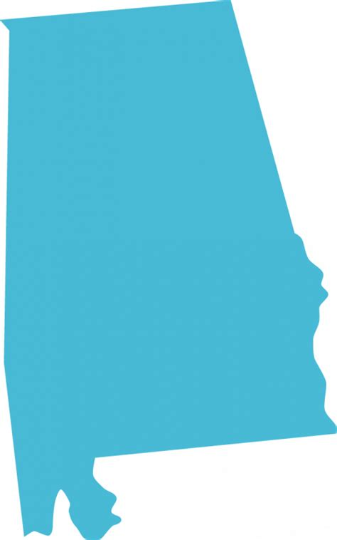 state of alabama clipart 31