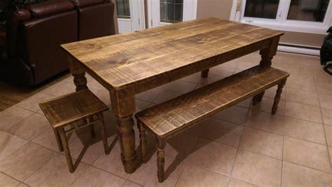 banc de cuisine en bois table de cuisine en bois table de cuisine sur mesure de