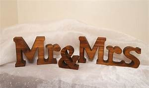 chunky mr and mrs wedding sign letters for wedding With mr and mrs letters for wedding