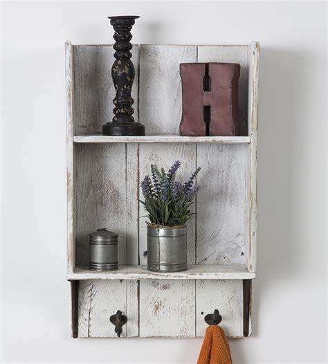 Reclaimed Wood Bathroom Shelf  Home Decor & Lighting