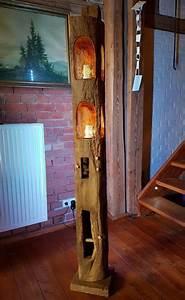 Lampe Aus Alten Holzbalken : windlicht xl laterne led stehlampe leuchte alt eichenbalken lampe holzbalken 182 in m bel ~ Orissabook.com Haus und Dekorationen