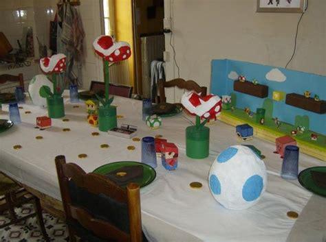 jeux de decoration d 233 coration de table mario et les jeux vid 233 os