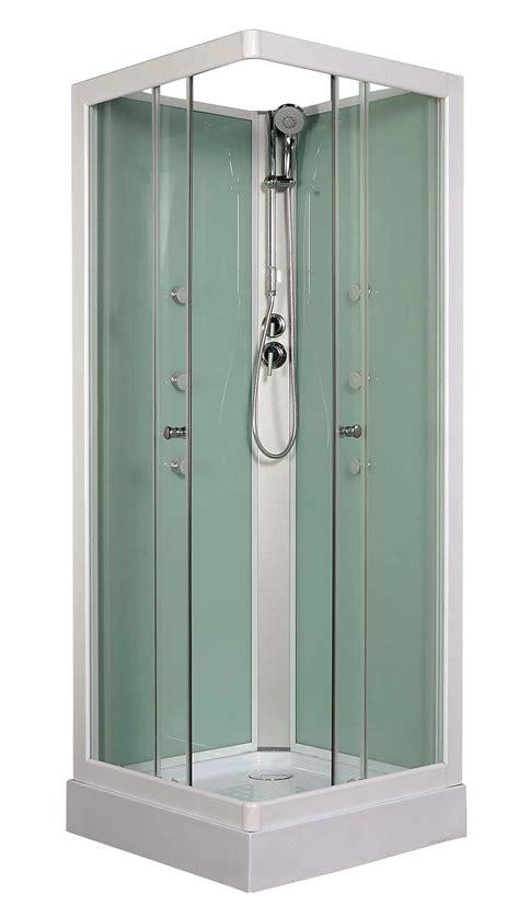 box doccia bricoman cabina idro square 6 getti orientabili cristallo