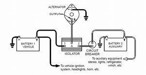 Dual Battery Isolator Diagram