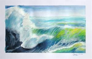 peindre sur peinture acrylique resine de protection pour With peindre sur peinture glycero