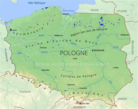 carte de pologne