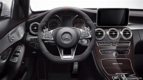 Esta versión se presentará a finales de septiembre y llegará a los concesionarios en febrero de 2015. 2015 Mercedes-Benz C63 AMG Edition 1 - Interior   HD Wallpaper #11