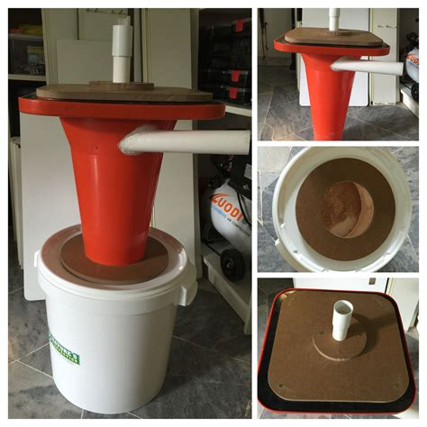 cyclone dust collector    cone  bought  rm