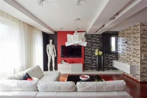 Déco Maison En Rouge Pour Un Appartement Moderne Vivons