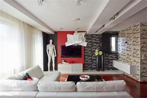 Dco Maison En Rouge Pour Un Appartement Moderne Vivons