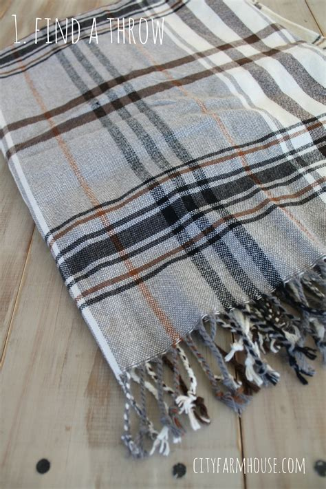 Diy Plaid Pillows From A Wool Throw  Jennifer Rizzo