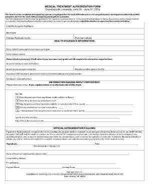 sle medical consent form for grandparents medical release form for grandparents templates free