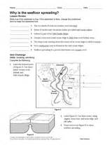 pictures seafloor spreading worksheet getadating