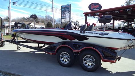 Ranger Aluminum Boats Weight by Ranger Boats Z520c Bass Boats Used In Nc Us