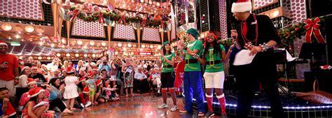 funtastic christmas cruises celebrate the holidays carnival