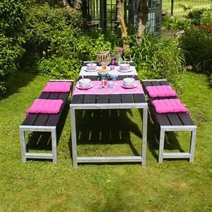 Table Jardin En Bois : plank table de jardin pique nique en bois autoclave 176x77x72cm ~ Dode.kayakingforconservation.com Idées de Décoration