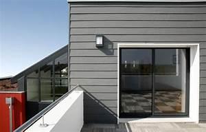 Bardage Façade Maison : annuaire sur internet de la maison en bois et des fournisseurs de la construction bois diaporama ~ Nature-et-papiers.com Idées de Décoration