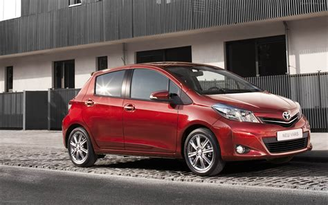 Toyota Yaris Wallpapers by Toyota Yaris 2012 Widescreen Car Wallpapers 26 Of