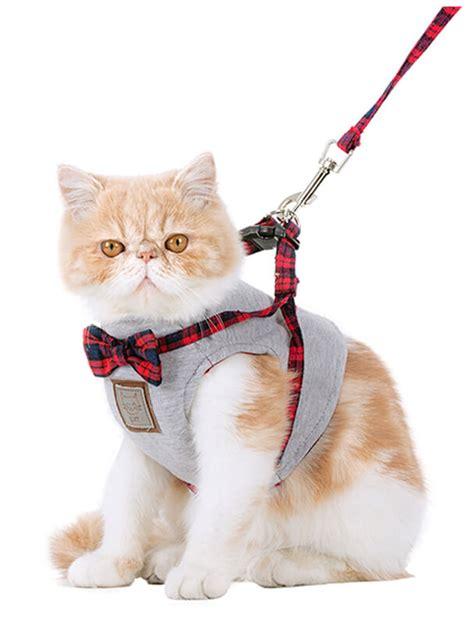 cat harness escape proof leash adjustable walking wholesale