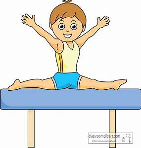 Gymnastics Cartoon Clipart - Clipart Suggest