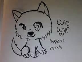 Cute Chibi Wolf Drawings