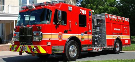 montgomery county md fire engine setcom  deliveries