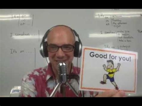 Mark Kulek Live Stream  7  Making Sentences  I Am, It's (on, In, At), I Sometimes, It's An