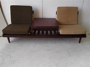 hans olsen danish modern modular teak sofa bed at 1stdibs With danish modern sofa bed