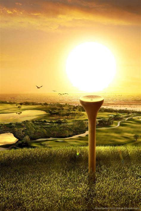 iphone golf wallpaper wallpapersafari