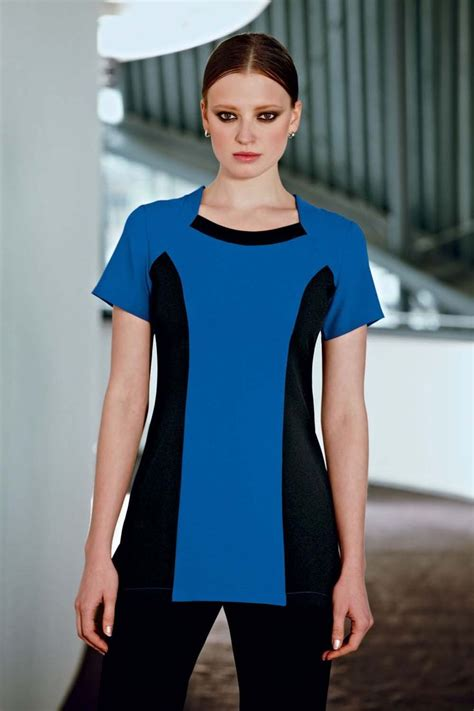 Beauty tunic salon spa therapist nail hairdressing black. The 25+ best Spa uniform ideas on Pinterest | Salon ...