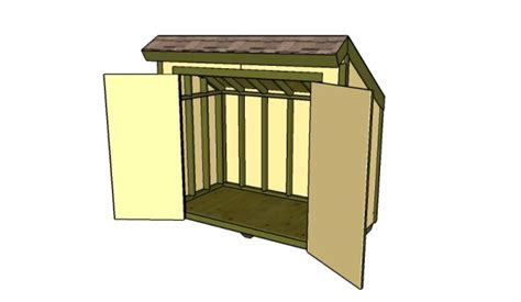 how to build a lean to shed 10 free storage shed plans howtospecialist how to