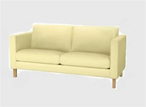 Yellow Loveseat Slipcover by Ikea Karlstad Loveseat Sofa Slipcover Cover Sivik Light