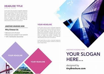 Docs Brochure Google Template Templates Fold Tri