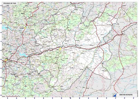 Carte Villes Maroc Pdf by Carte Taza Carte Routi 232 Re Taza