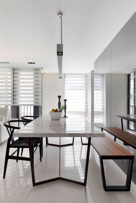 25 Timeless Minimalist Dining Rooms with Modern Dining