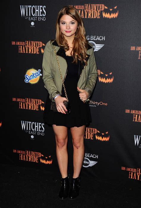 Stefanie Scott - 5th Annual LA Haunted Hayride Premiere ...