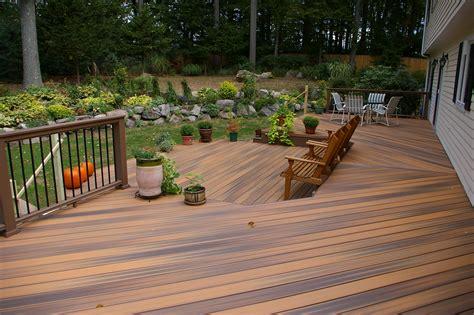 outdoor life   backyard custom decks  fairfield