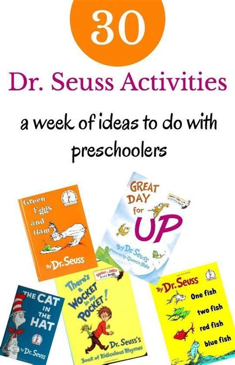 178 best dr seuss images on 953 | 6f63df2bf99ecc4bbdb920e05800601b dr seuss books and activities dr seuss activities for preschoolers