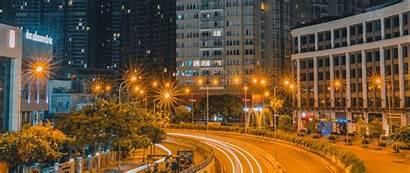 Road Night Exposure Lights 1080p Wide Dual