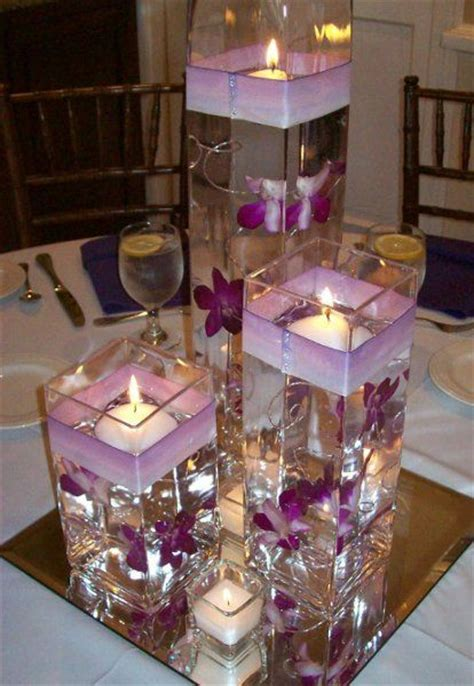 anyone did floating water candle with vases as their