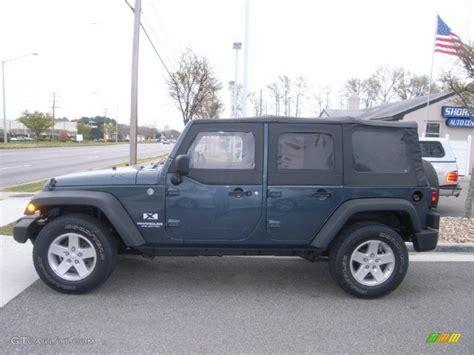 wrangler jeep 2008 steel blue metallic 2008 jeep wrangler unlimited x 4x4