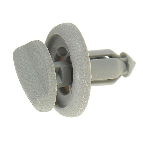 Grey Plastic Parcel Shelf End Clip Early Type For Nissan