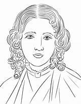 Harriet Beecher Stowe Keller Kolorowanki Supercoloring Kolorowanka sketch template