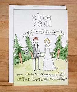 best 25 illustrated wedding invitations ideas on With handwritten wedding invitations cost