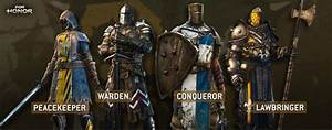 For Honor Tier List Best Character Classes Best Heroes