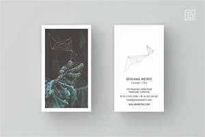 Geoluna1 Business Card Template  With Images